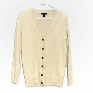 J. CREW wool cashmere Button Cardigan XS